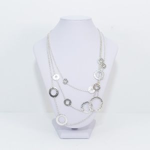 Lois Hill - Sterling Silver Triple Strand Necklace